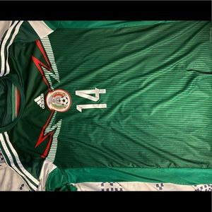Mexico Chicharito Jersey size Large.